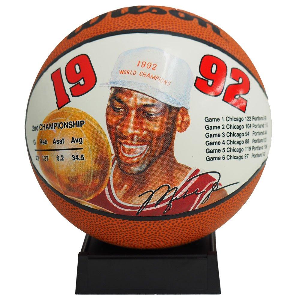 Wilson(ウィルソン) NBA シカゴブルズ マイケルジョーダン ミニ バスケットボール 1992 -   B01KHI3AL0