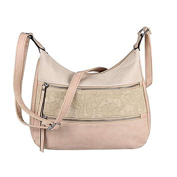 XL Damentasche Schultertasche Tasche Damen Shopper Bag Leder Optik Umhängetasche