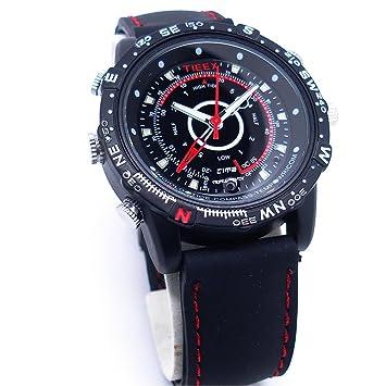 Cámara espía beaufit y reloj de pulsera con 8 GB de memoria: Amazon.es: Electrónica