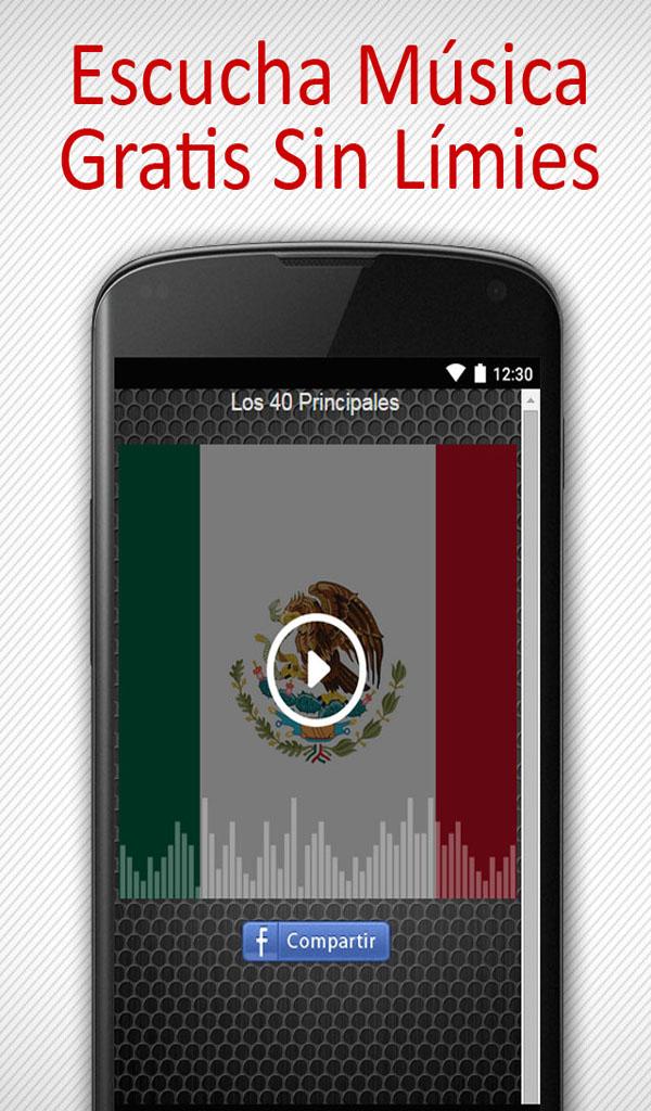 'A Estaciones de Radio de Mexico: Escucha Las Mejores