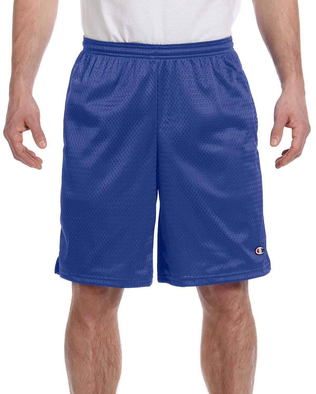 Champion 3.7 oz. Long Mesh Shorts with Pockets M