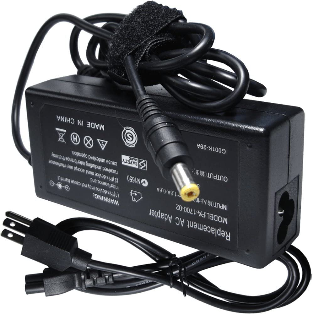 Ac Adapter Charger Power Cord Supply for Acer Aspire 5733-6607 5733Z- 4477 5733Z-4445 5733Z-4633 5733-6424 5733-6436 5733-6489 5733-6838