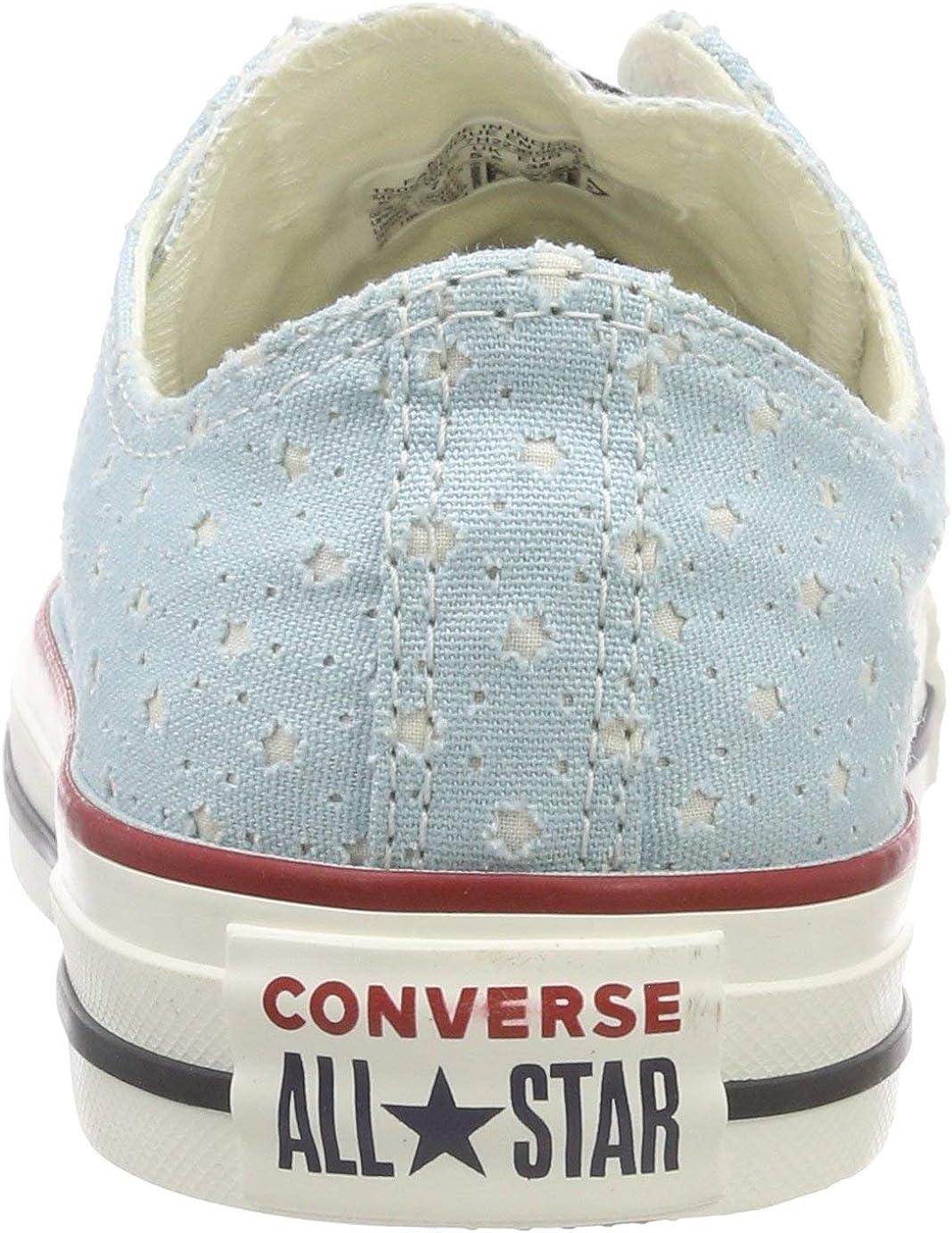 Converse CTAS Ox Ocean Bliss/Garnet, Basket Mixte Bleu Ocean Bliss Garnet 456
