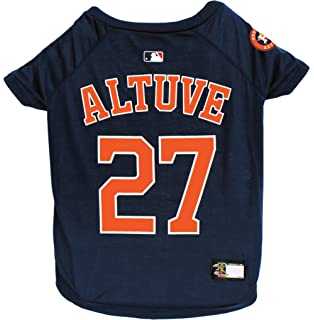 Amazon.com : Pets First MLB Houston Astros Dog Jersey ...