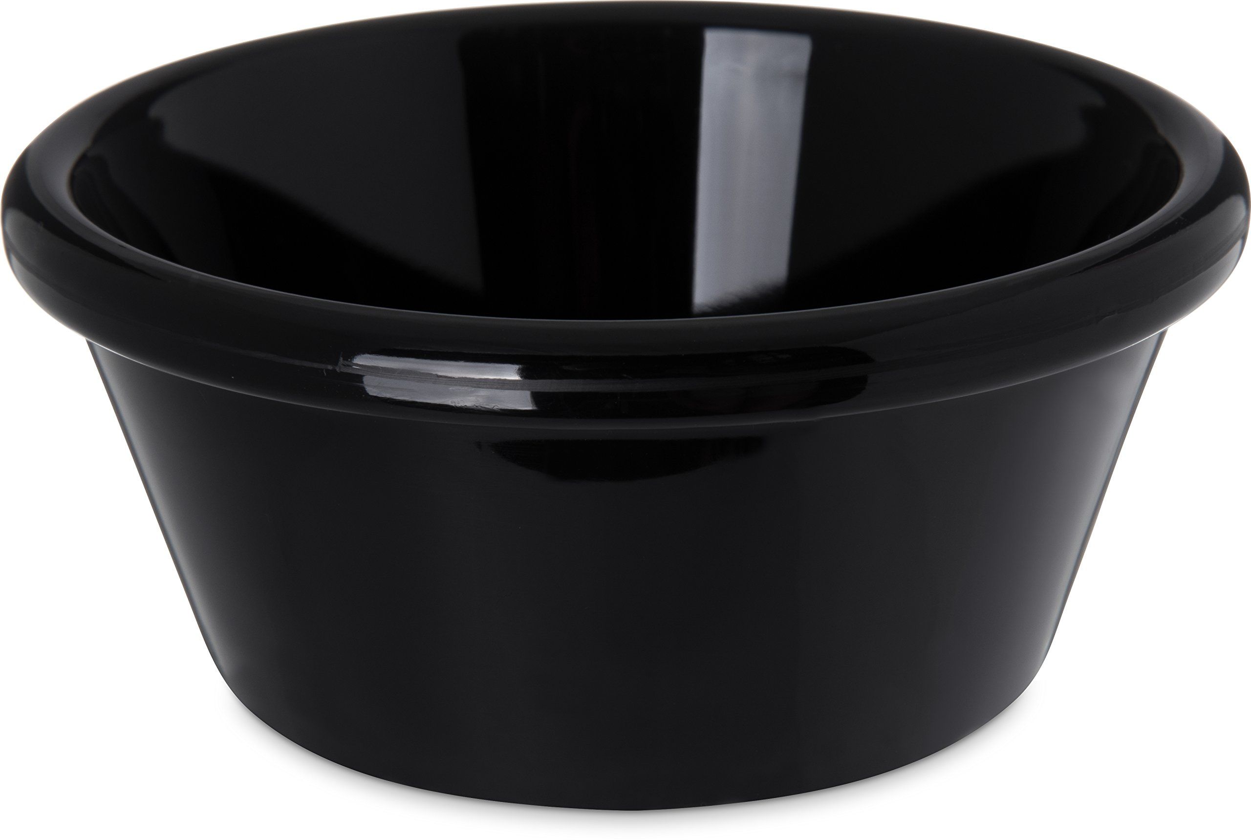 Carlisle 4312603 SAN Smooth Ramekin, 6 oz Capacity, 1.80'' Height, Black (Case of 48) by Carlisle (Image #1)