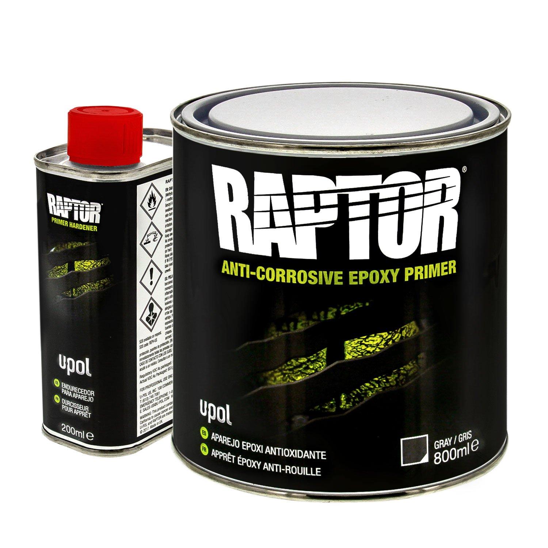 Raptor 4:1 Anti-Corrosive Epoxy Primer Kit UP4831 Gray 1L by Raptor