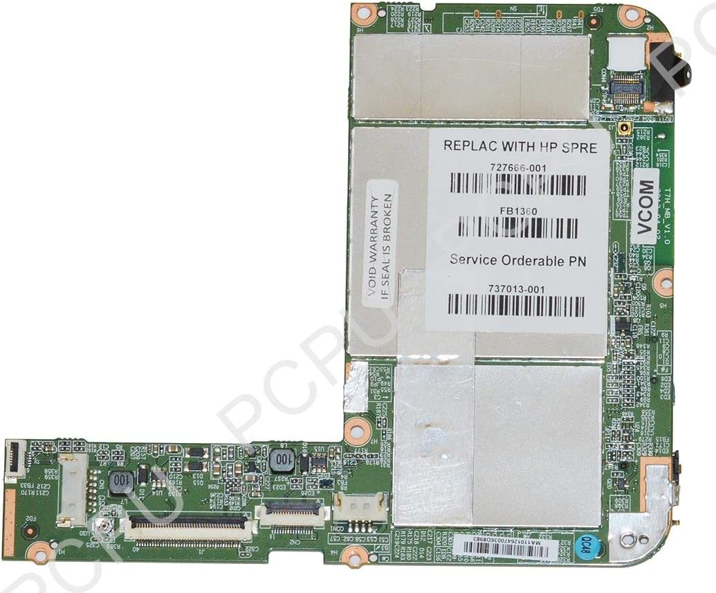 "727666-001 HP Slate 7 2800 7"" 8GB SSD Tablet Motherboard"
