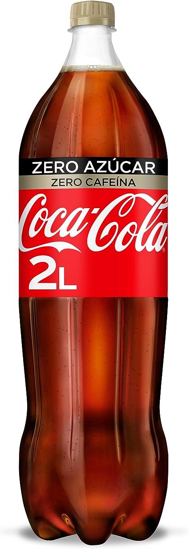 Coca-Cola Zero Azúcar Zero Cafeína Botella - 2 l: Amazon.es ...