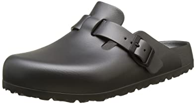 BIRKENSTOCK Unisex-Erwachsene Boston Eva Clogs, Grau (Metallic Anthracite), 37 EU (4.5 UK)