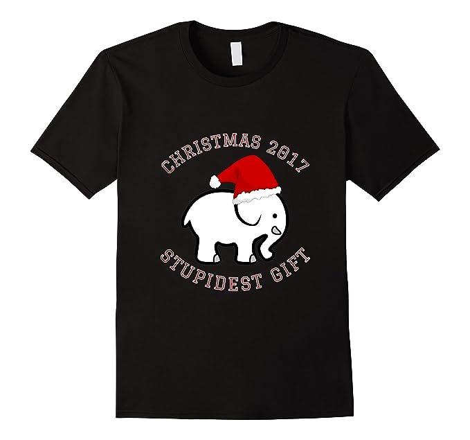 mens white elephant christmas 2017 t shirt gift exchange contest 2xl black