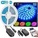 Minger 16.4-Feet Smart Wi-Fi RGB LED Strip Lights