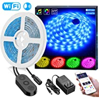 Minger 16-Foot Smart RGB LED Strip Lights with Android iOS