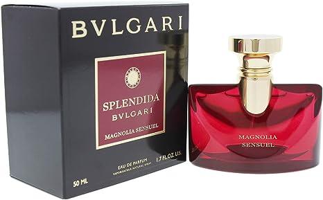 Bvlgari splendida magnolia Sensuel, profumo da donna, 50 ml
