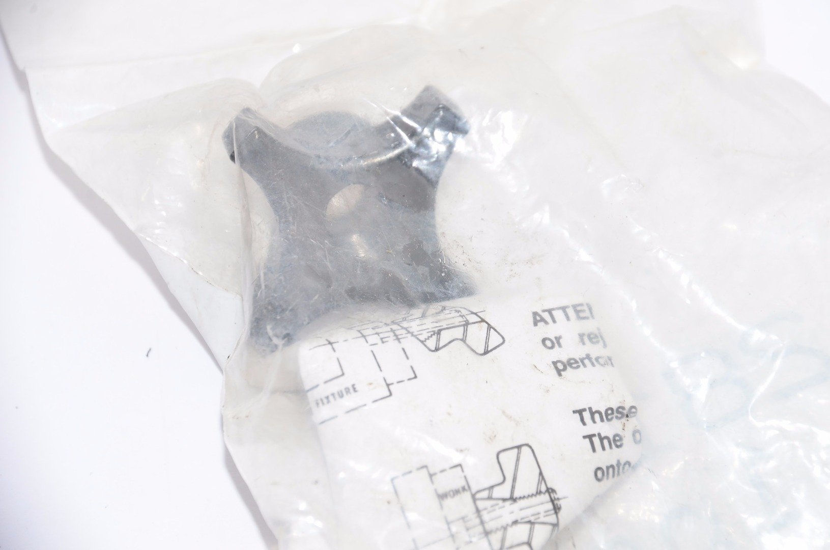 Lot of 6 NEW TTC 28102 Steel Hand Knob-Overall Length 7/8'',Thread Size: 5/16''-18