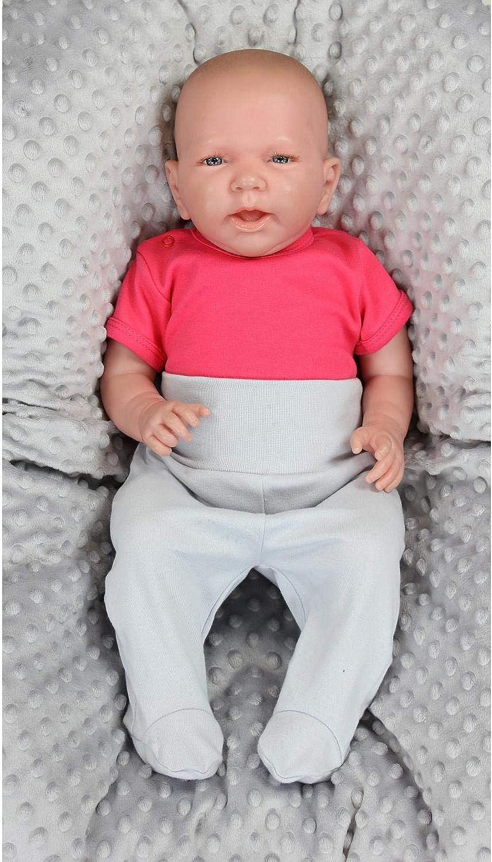 TupTam Baby Girls Bodysuits Short Sleeve Plain Pack of 5