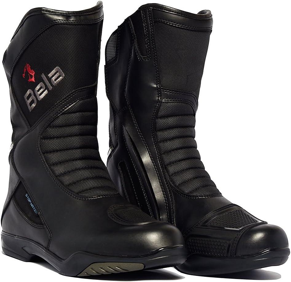Botas para Hombres Bela Air Tech Botas de Moto Touring (44)