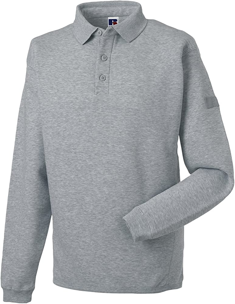 SOUL REBEL Sudadera de Cuello Polo, 300 g/m² Light Oxford XXXL ...
