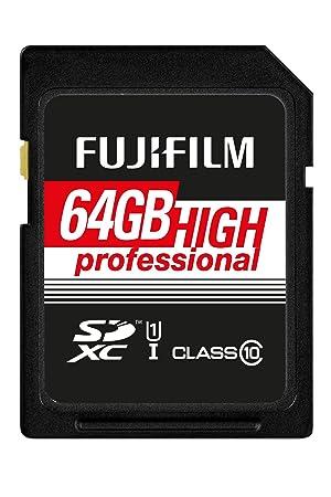FUJIFILM 4005321 FUJIFILM 64GB SDXC TARJETA UHS-I HIGH ...