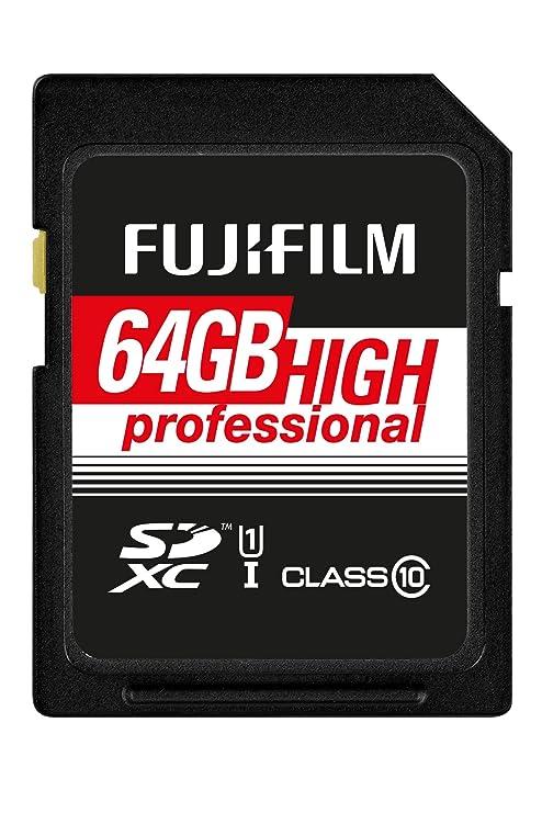 FUJIFILM 4005321 FUJIFILM 64GB SDXC TARJETA UHS-I HIGH PROFESIONAL ...