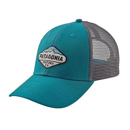 35e30c4a4ace9 Amazon.com  Patagonia Unisex Fitz Roy Crest LoPro Trucker Hat