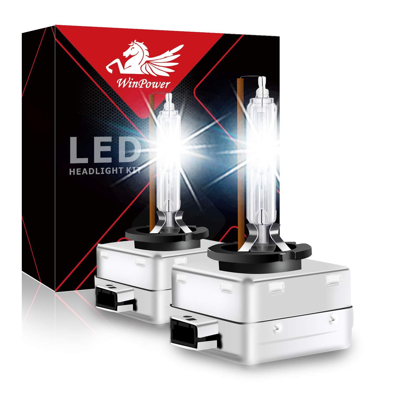 Win Power 35W D2S D2R HID Xenon Weiß Ersatz Low/High Beam Lampen Scheinwerfer 4300K 6000K 8000K, 2Stück Winpower