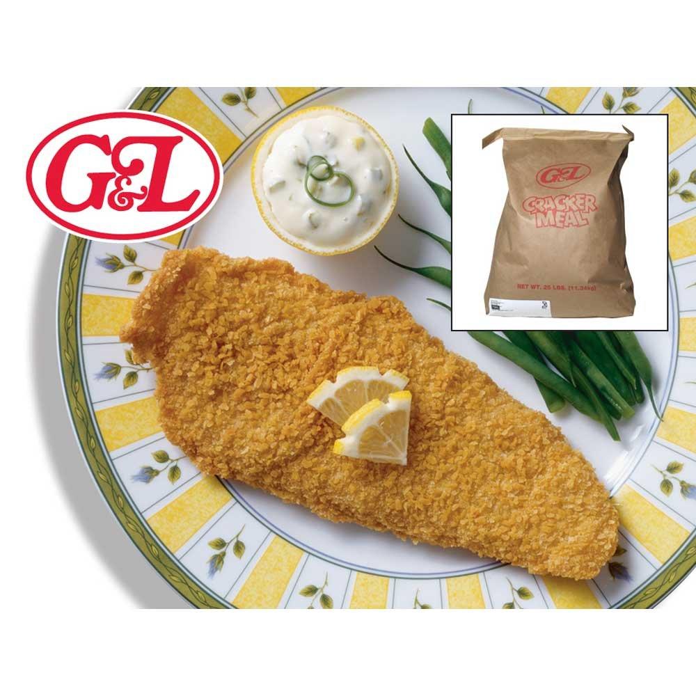 Cracker Meal Golden Dipt Coarse 25 Pound