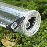 Luifels en dekzeilen Doorzichtige PVC-zeildoek, scheurweerstand Waterdicht 0,35 mm Transparante luifel Luifel Patio…