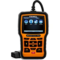 FOXWELL NT510 Automotive Scanner for BMW OBD II Obd2 Code Reader, ABS/SRS/EPB/Transmission Diagnostic Scan Tools with OIL Service Reset, ABS Reset Service Functions (NEW VERSION)