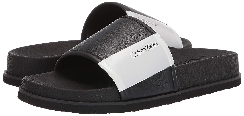 b01f8c2f848 Amazon.com  Calvin Klein Men s Mackee Slide Sandal  Shoes