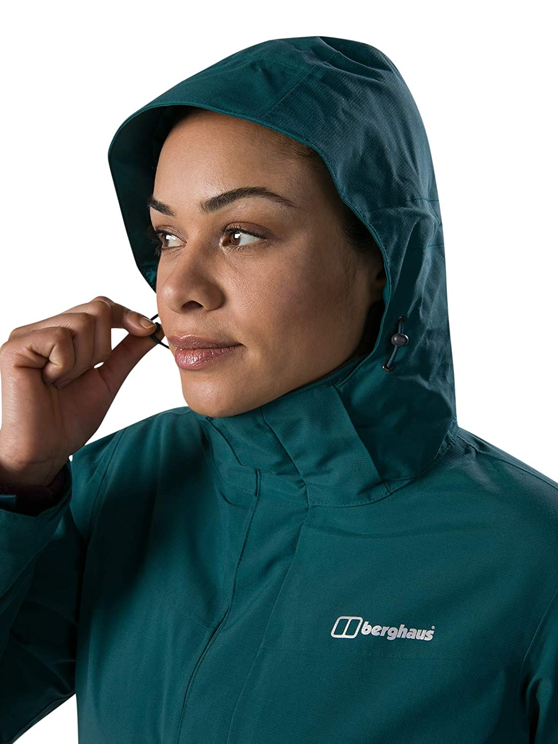 Mujer berghaus Hillmaster Interactive Chaqueta Impermeable
