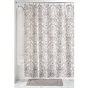 InterDesign Tribal Damask rideau douche, rideau baignoire design 183 ...