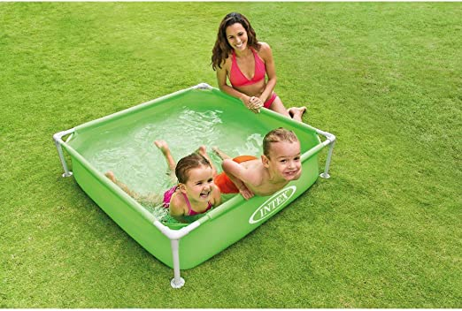 INTEX Piscina Mini Frame 122 x 122 x 30 57172 NP: Amazon.es: Hogar
