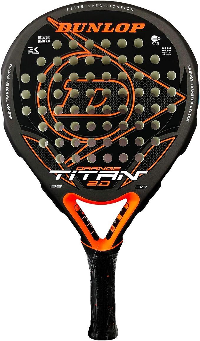 DUNLOP Pala de Padel Titan 2.0 Orange: Amazon.es: Deportes y aire ...