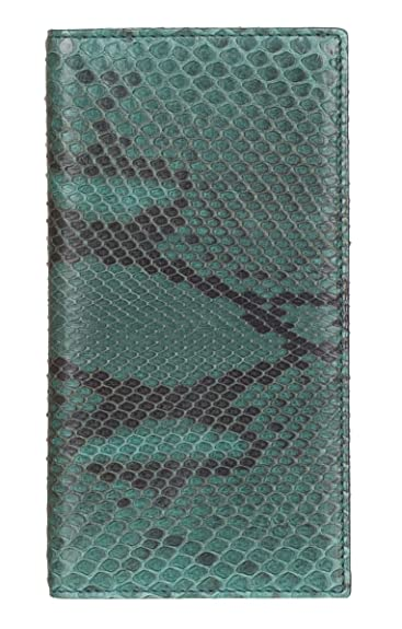 219f157259b1 Amazon.com  Gucci Green Python Snakeskin Long Bi Fold Wallet  Shoes