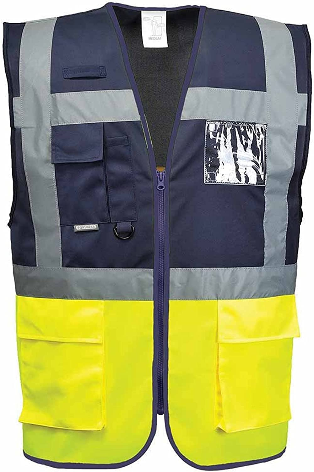 Gilet Haute Visibilit/é Portwest Executive Paris Bicolore