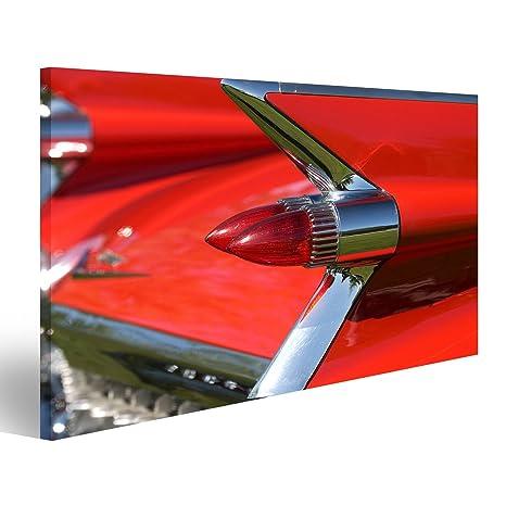 Quadro moderno aletas de cola de años 50 - Impresión sobre ...