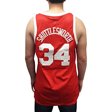 41d42f7d8 Jesus Shuttlesworth 34 Big State Basketball Jersey He Got Game College Ray  Allen