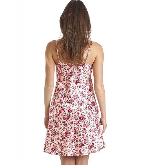 Conjunto de camisón y bata estilo Kimono - Estampado floral - Rosa: Camille: Amazon.es: Ropa y accesorios
