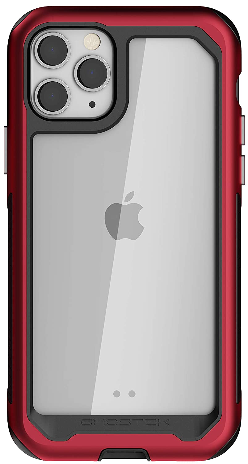 Ghostek Atomic Slim Designed for iPhone 11 Pro Case Clear Metal Bumper Cover