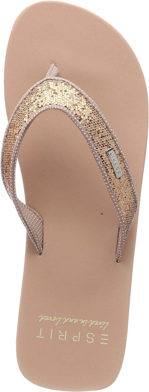 Esprit Glitter Thongs Mules Femme