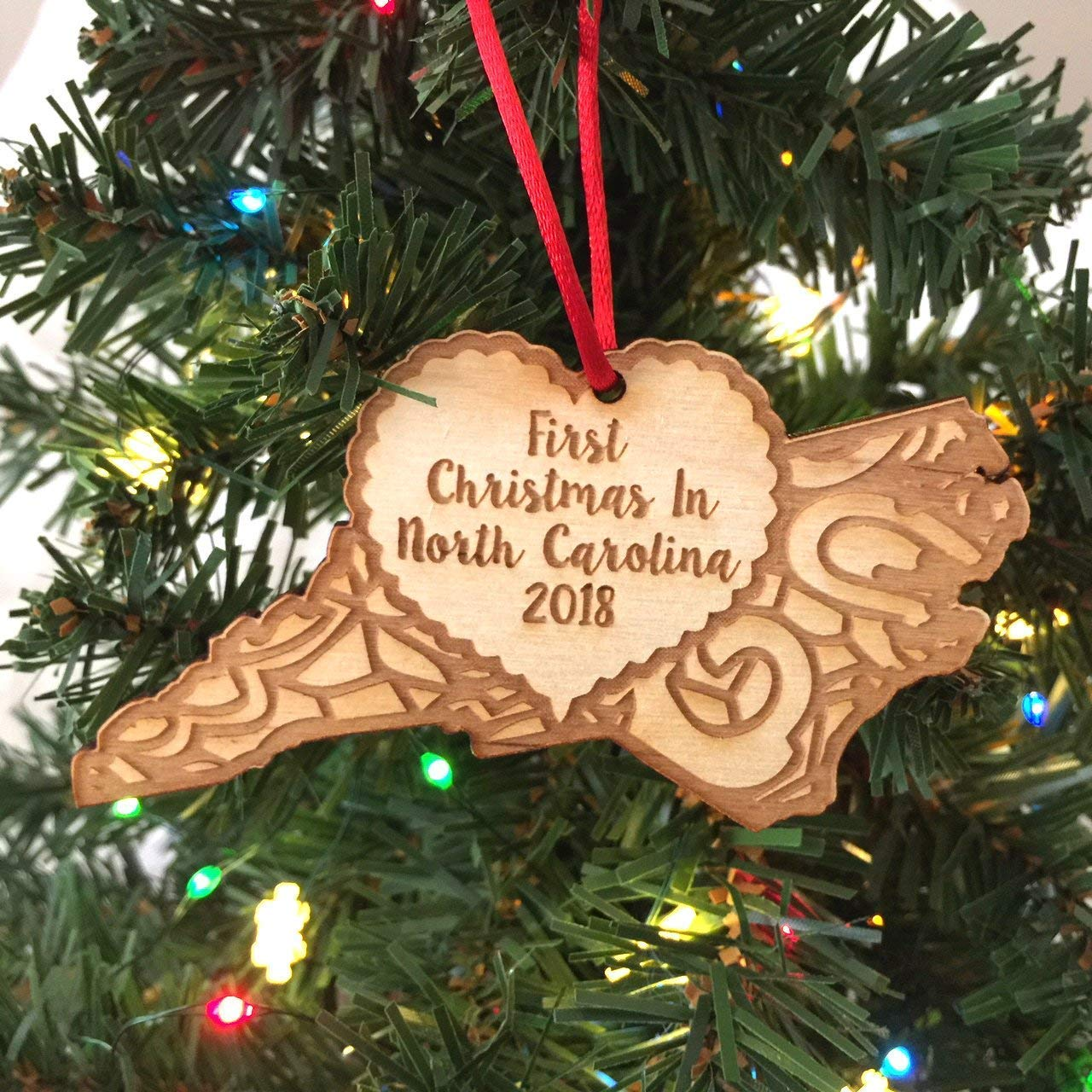 Amazon.com: First Christmas in North Carolina 2018 Christmas ...