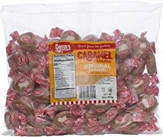product image for Goetze's Candy Vanilla Caramel Creams - 2 Pound Bag (32 Ounces) - Fresh from the Factory