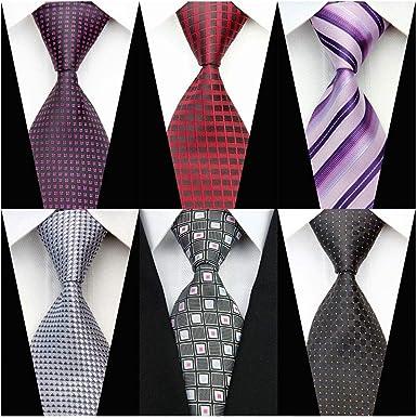 Fashion Mens Stripe Plaids Formal Floral Necktie Jacquard Woven Polyester Ties
