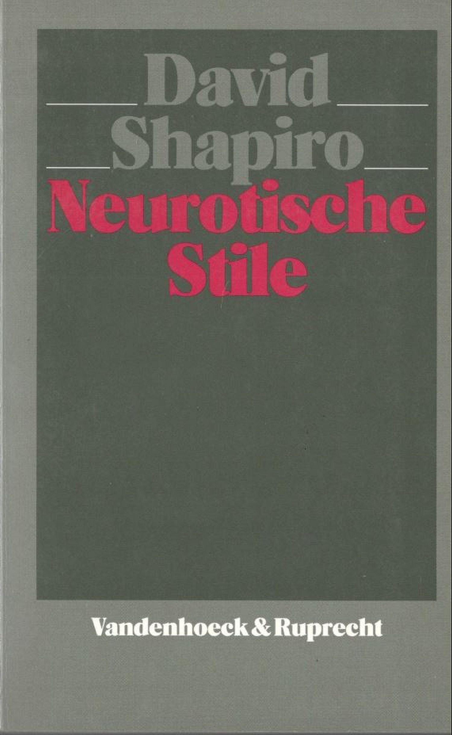 Neurotische Stile