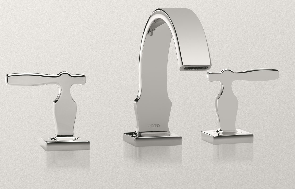 Toto TL626DD#BN Aimes Widespread Lavatory Faucet, Brushed Nickel
