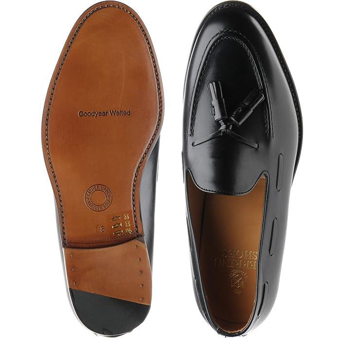 Herring Herring Barcelona II - Mocasines para Hombre Negro Black Calf: Amazon.es: Zapatos y complementos
