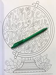 Amazon More Good Vibes Coloring Book Coloring Is Fun