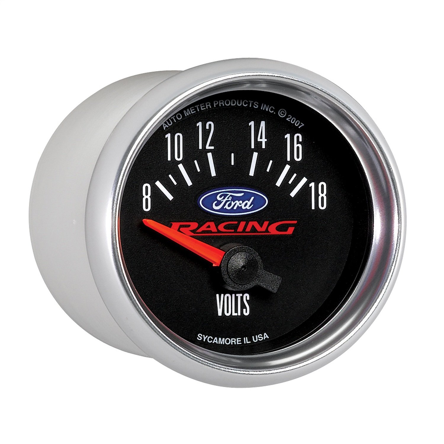 Auto Meter 880081 Ford Racing Series Electric Voltmeter Gauge