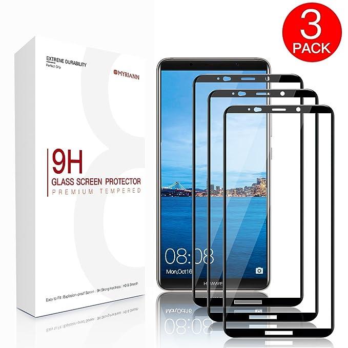 114 opinioni per Huawei Mate 10 PRO Vetro Temperato, [3 pezzi] Basstop 3D Full Coverage Screen