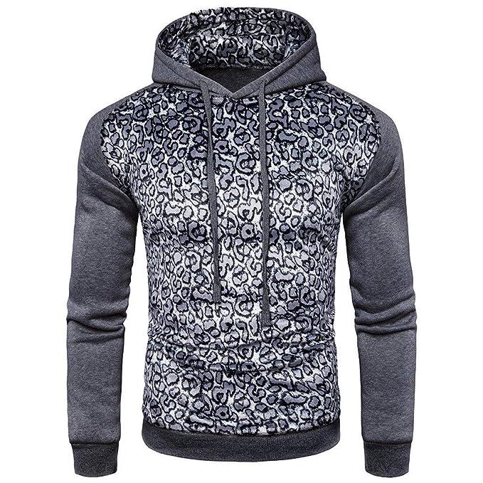 HaiDean Hippie Streetwear Sudadera con para Hombre Otoño Capucha Invierno Basic Modernas Casual Casual Sudadera con Capucha Deportiva Manga Larga: ...